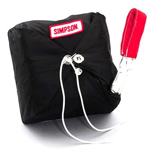 Mini Paracaídas Simpson Para Auto De Competición Extras