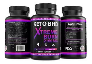Keto Bur Extreme 2100mg 90 Cap + Dieta Envio Gratis