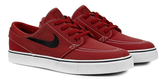 Tênis Nike Stefan Janoski Canvas 615957-600 Vermelho