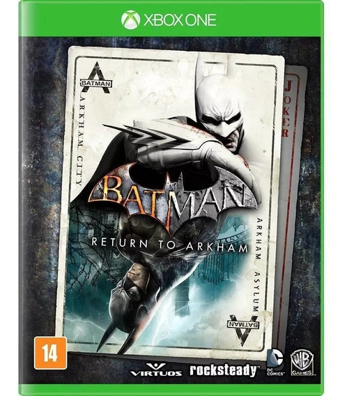 Batman Return To Arkham City Xbox One Digital + Brinde