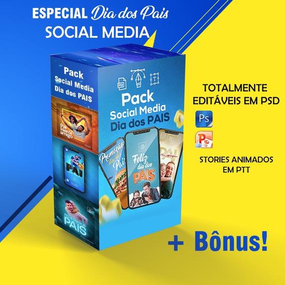 Pack Social Media - Dia Dos Pais
