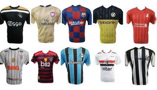 Kit Com 10 Camisetas De Time Brasileiro Europeu E Seleções