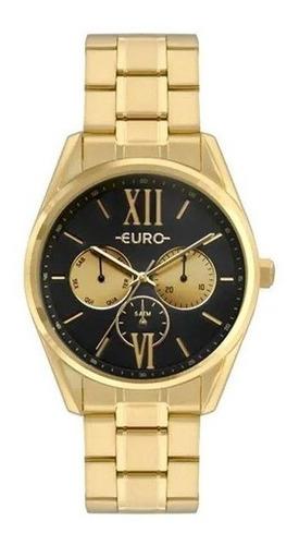 Relógio Euro Feminino Construções Dourado Eu6p79ad/4p