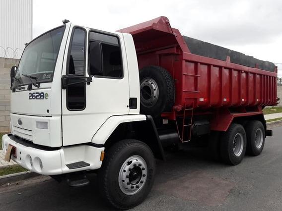 Ford Cargo 2628 (2009) 6x4 - Caçamba