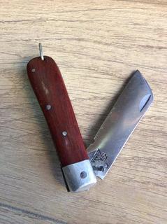 Canivete Af Inox E Madeira