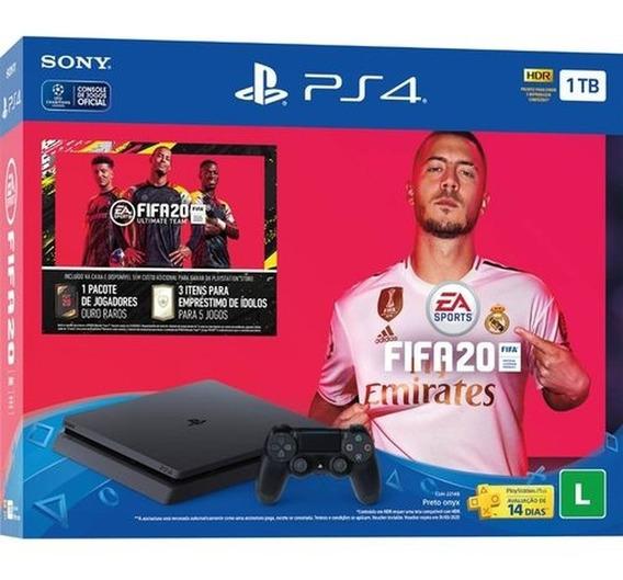 Playstation4 Slin 1tb 2 Controles E 1fifa20