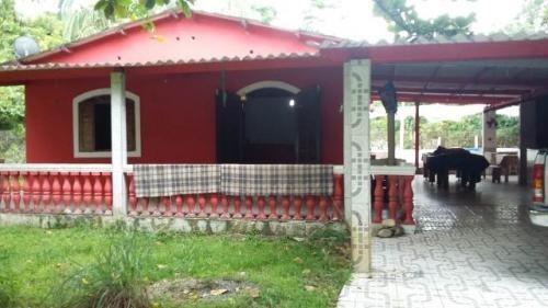 Chácara Com Piscina No Bairro São Fernando, Em Itanhaém.