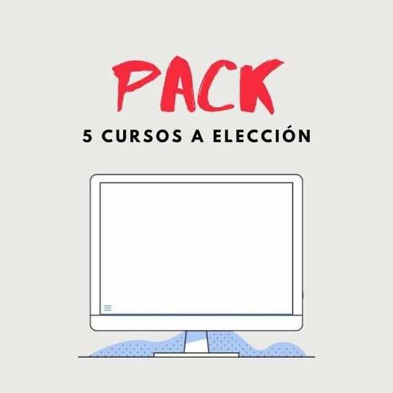 Pack 5 Cursos A Elección - Oferta - Drive