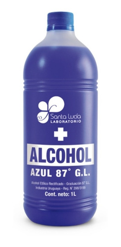 Alcohol Azul Litro