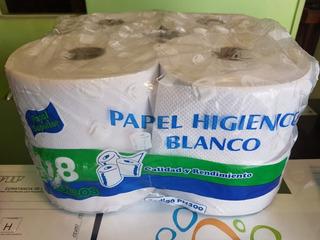 Papel Higiénico Blanco X 300 Metros (8 Rollos)