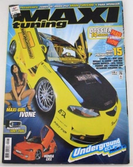 Revista Maxi Tuning - Mitsubishi Eclipse Honda Civic Crx