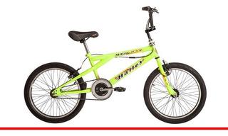 Bicicleta Halley Freestyle Rod 20 Acero 48 Rayos (720894)