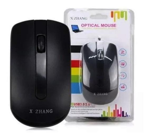 Mouse Óptico Generation Sensor Xz 018 Cabo Usb Promoção + Nf