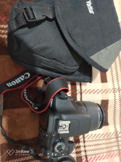 Câmera Profissional Canon T5 Rebel.. Cartão De Memória 32g..