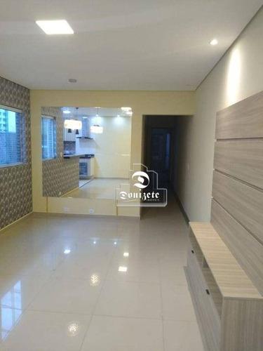 Imagem 1 de 17 de Apartamento À Venda, 75 M² Por R$ 394.500,00 - Vila Helena - Santo André/sp - Ap17453