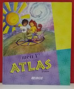 Livro Meu 1 Atlas - Ibge - 3 Edição