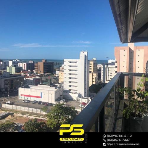 Imagem 1 de 17 de Cobertura Com 4 Dormitórios À Venda, 500 M² Por R$ 1.500.000 - Manaíra - João Pessoa/pb - Co0080