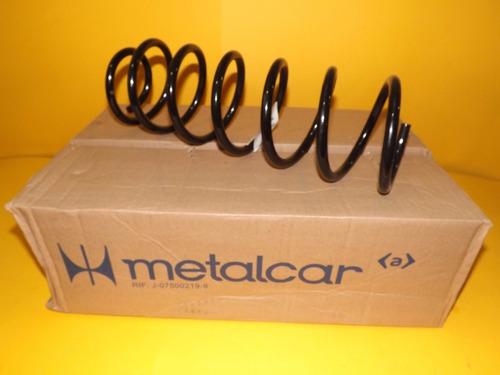 Espirales Traseros Metalcar Chevrolet Aveo 2005-2010