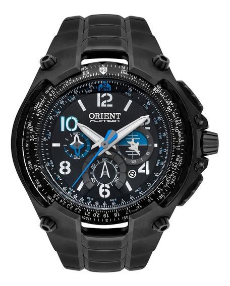Relógio Orient Masculino Flytech Mpttc001 P2px Preto