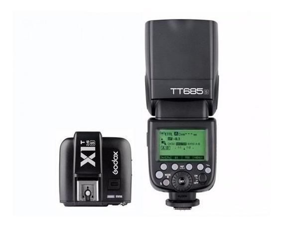 Kit Flash Godox Tt685s + Radio Flash Godox X1t-s
