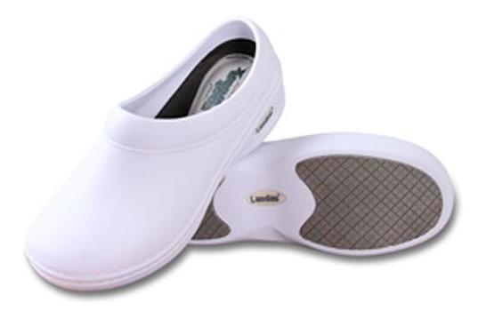 Zapatos Comfort Marca Landau Color Blanco- Envío Gratis