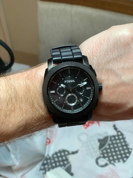 Relógio Usado Masculino/ Feminino Fóssil - Preto