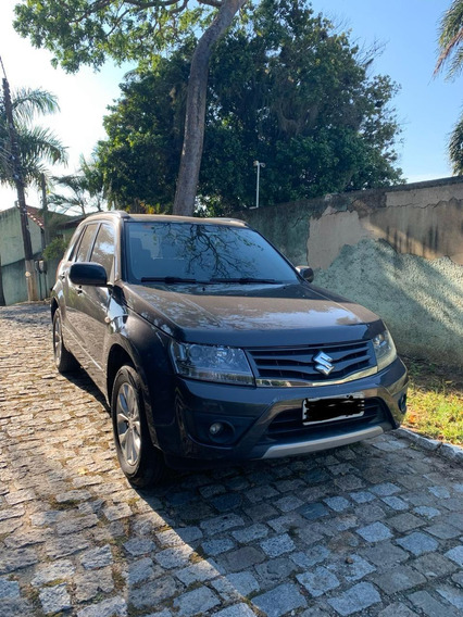 Suzuki Grand Vitara 2013 4 Portas Cinza Escuro