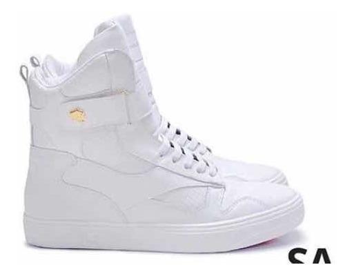 Tênis Hardcore Footwear Couro/botinha Treino Fitness Sneaker