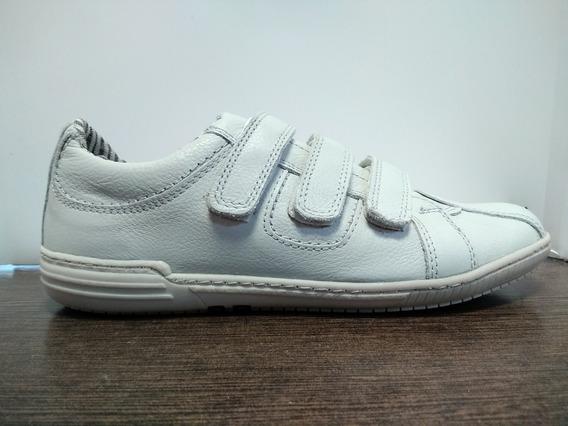 Zapatillas Zurich Blancas 3707 Abrojo Hombre Vestir