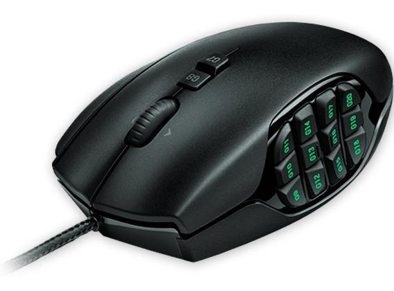 Mouse Gamer Logitech G600 Mmo 20 Botones 8200 Dpi Mexx