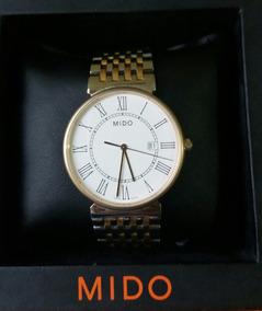 Relógio Mido Quartz 2 Tons Ouro M009.610 (omega Rolex)
