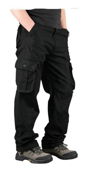 Pantalon Cargo Gabardina Reforzada Hard Working Fast Age
