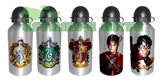 Squeeze Aluminio Garrafa De 500 Ml Harry Potter