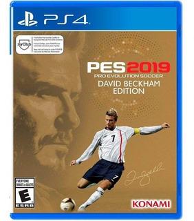 Pes 2019 Pro Evolution Soccer Edición David Beckham Ps4