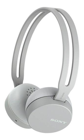 Fone De Ouvido Sony Bluetooth Wh-ch400/h Cinza - Ac1787