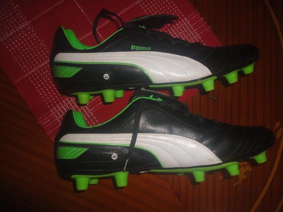 Zapatos De Taco Puma Originales Nuevos 100% Cuero Talla 45