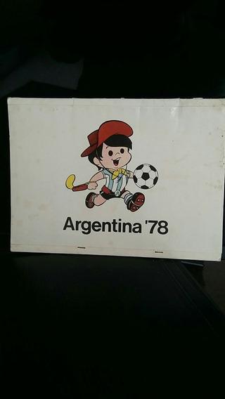 Única Caja De Fósforos Mundial 78 Original
