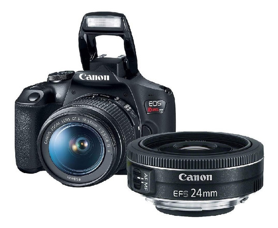 Camera Canon Eos Rebel T7 Com 18-55mm Is Ii