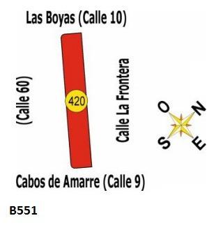 B551 Solares En Uruguay - La Esmeralda - Dpto De Rocha