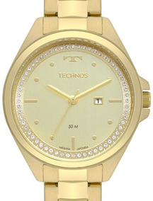 Relógio Technos Feminino Fashion Trends Dourado - 2015cbv/4x