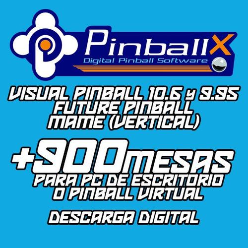 Pinballx - Visual / Future Pinball / Mame Vertical Descarga