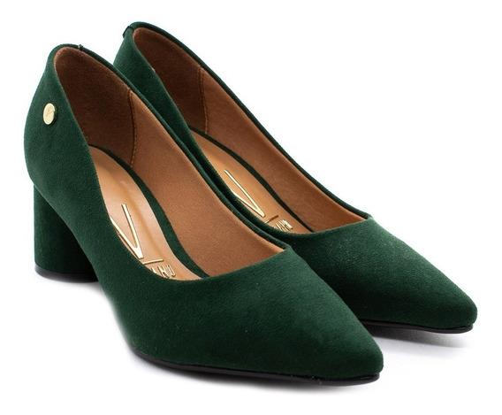 Sapato Vizzano 1279.100 Verde Camurça