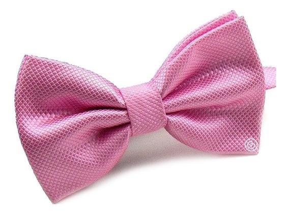 Corbata De Moño Clasico Para Hombre Grin Accs Color Rosa