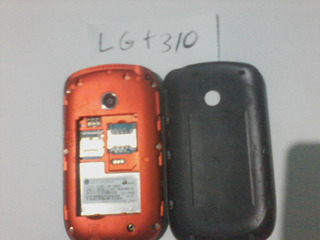 Celular Lg T 310 -face-tube -fm-rádio-leia O Anuncio