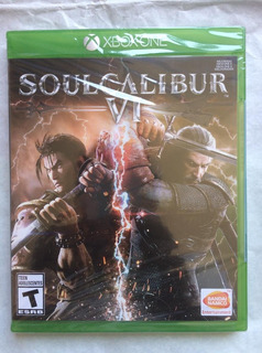 Soul Calibur Vi Xbox One Nuevo Sellado Envíos