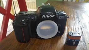 Nikon F-601 Af + Bolsa De Transporte