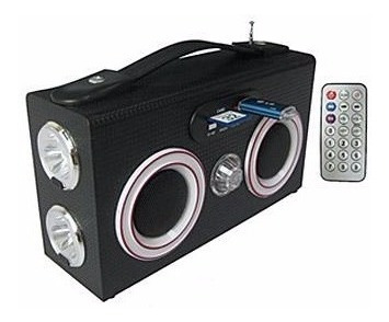 Caixa De Som - Mp3 Speakers Portátil Com Controle - Hy-b6
