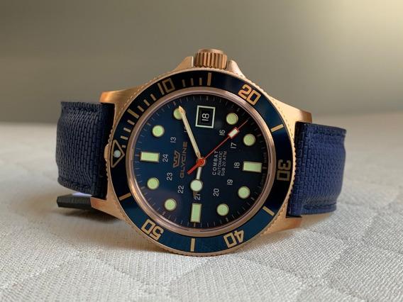 Relógio Glycine Combat Sub Bronze Automatic Gl0174
