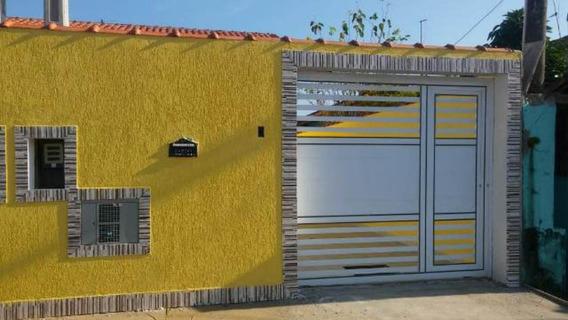 Ótima Casa Com Escritura Em Itanhaém Litoral Sul - 4534 |npc