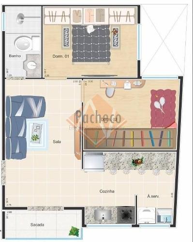 Imagem 1 de 4 de Apartamento/studio Na Vila Matilde, 2 Dormitórios, 49 M², R$ 245.000,00 - 2173